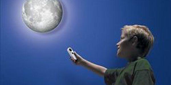 Krásný dárek pro malé badatele! Fascinující lampa ve tvaru měsíce v naší nabídce za 499 Kč právě teď!
