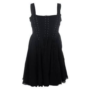 Dámské černé korzetové šaty 13 Cats