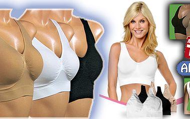 Podprsenka AhhBra! Skvělá podprsenka, která se dokonale přizpůsobí Vašemu tělu! Vhodná na sport, ale i pod běžné oblečení! Dokonale tvaruje Vaše prsa!