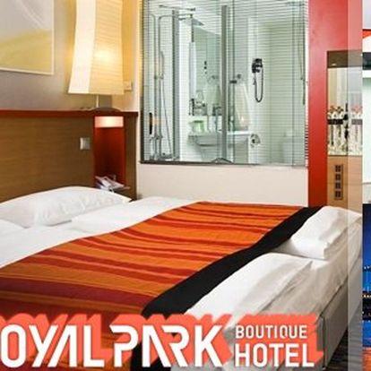 Nedávno otevřený 4* Royal Park Boutique Hotel v Budapešti na vás čeká s otevřenou náručí! 3denní pobyt pro 2 osoby, snídaně, večeře, láhev maďarského sektu, celodenní vstup do spa centra i pozdní check-out?