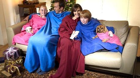 Originálna deka SNUGGIE s rukávmi