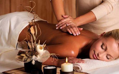 Relaxační hodinová masáž zad a šíje pro uvolnění těla i mysli!
