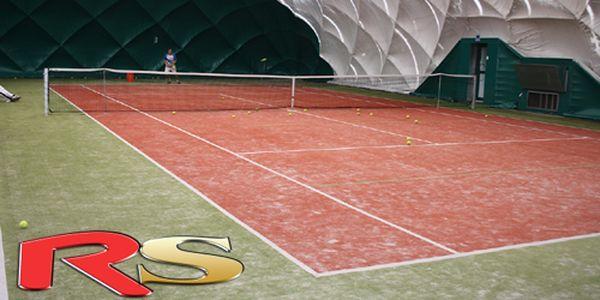 TENIS v hale na umělé trávě za 220 Kč! RS sportcentrum na Praze 6, platnost od 7-14h a 21-22h