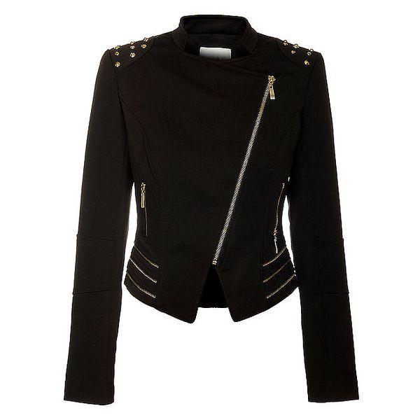 Dámský černý kabátek Lucy Paris