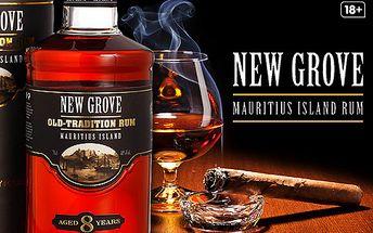Rumy a likéry New Grove z ostrova Mauricius