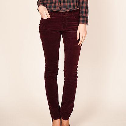 Fialové kalhoty od španělské značky Tantraimpex