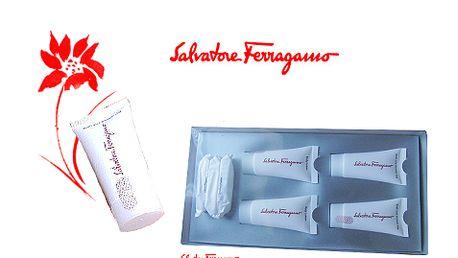 Salvatore Ferragamo sada, gely, krémy, mýdla