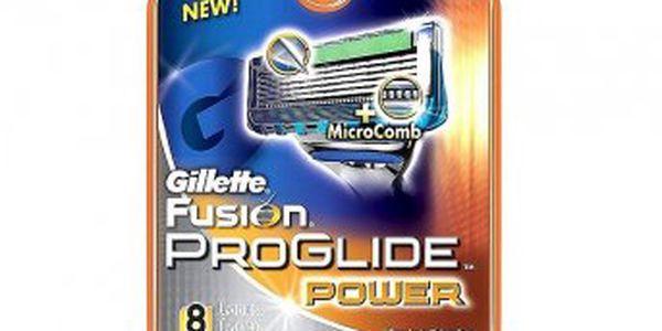 Chcete dokonale oholenou tvář?? Jedině s náhradní hlavicí k holícímu strojku Gillette Fusion PROGLIDE Power!
