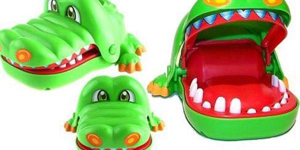 Hra krokodýl u zubaře, zubní lékař, krokodýl zoubek