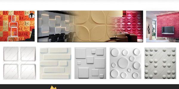 Designové panely na stěnu za 499 Kč!