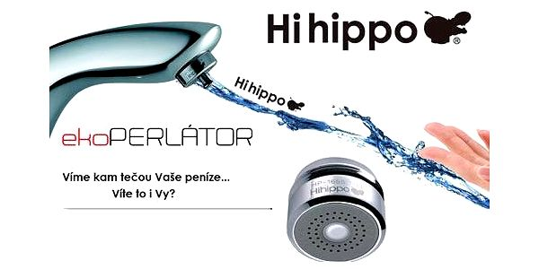 Ekoperlátor HIHIPPO úspora vody až 84%