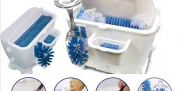 Jen pár talířů, skleniček na mytí? Nechcete zapínat myčku? Máme jednoduché řešení.