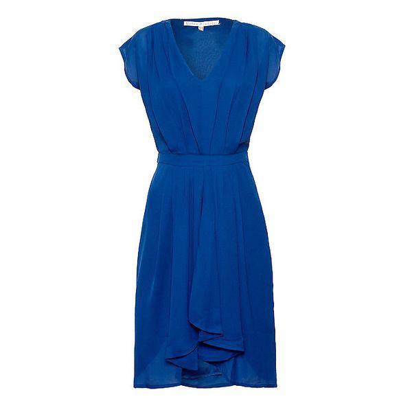 Dámské modré šaty Uttam Boutique