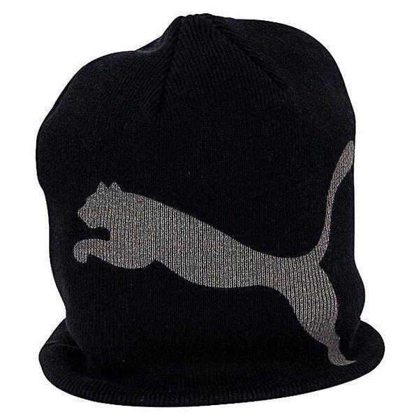 Dámská černo-šedivá čepice Puma