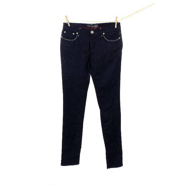 Dámské tmavě modré džíny Tommy Hilfiger s úzkými nohavicemi
