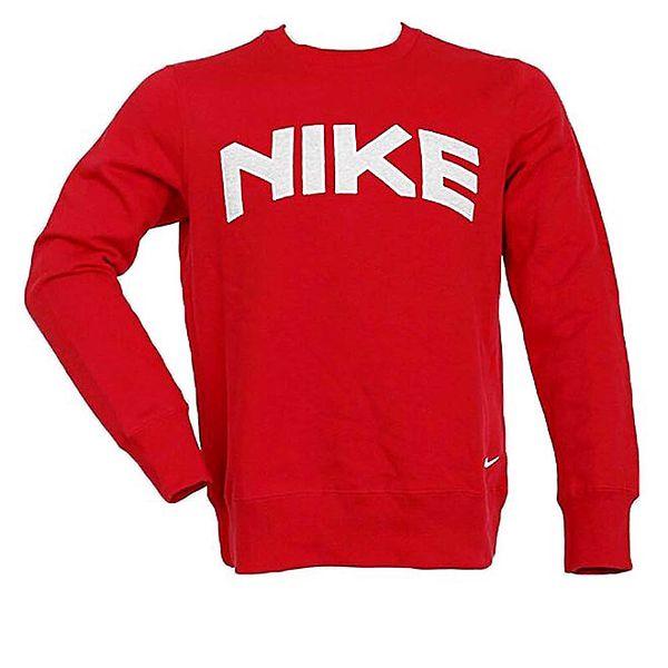 Pánská červená mikina Nike