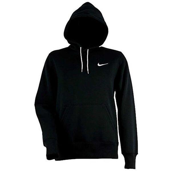 Pánská černá mikina s kapucou Nike