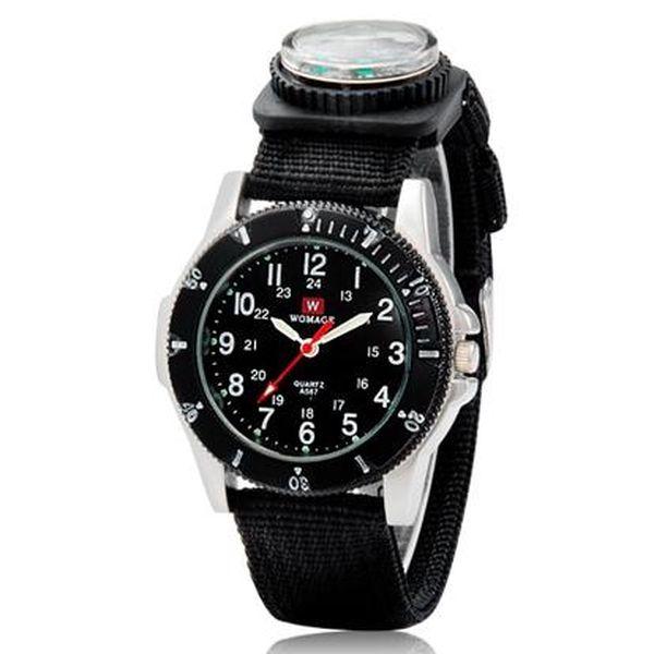 Unisex hodinky Womage s kompasem - 3 barvy a poštovné ZDARMA! - 31505762