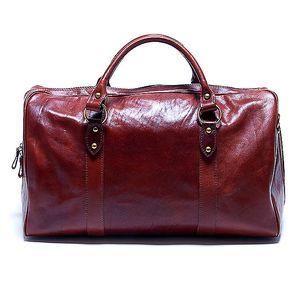 Dámská velká hnědá cestovní taška Renata Corsi
