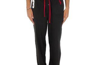 Pánské černé pyžamové kalhoty Ralph Lauren s číslem