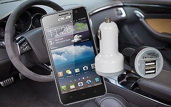 Univerzálna USB nabíjačka do auta za skvelú cenu 3,99 € vrátane poštovného