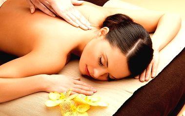 Klasická masáž chrbta, chodidla a lýtka + rašelinový zábal