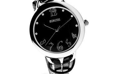 Dámské hodinky Sinobi černý pásek