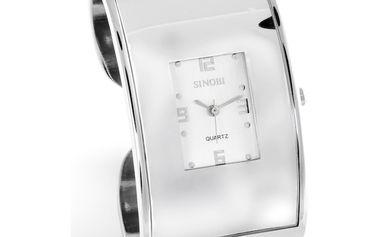 Dámské hodinky Sinobi stříbrné styl náramku