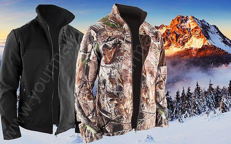 Vytápěná zimní bunda - 2 barvy