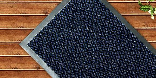 Vopi Rohožka, modrá, 80 x 120 cm