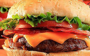 Dva nadpozemsky dobré burgery