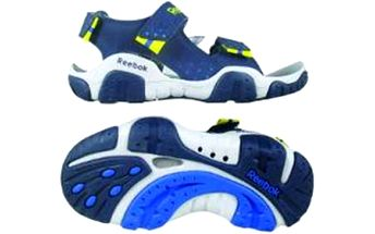 Reebok CLEAR SPLASH II BLUE/YELLOW EUR 32.5 (1.5 UK junior)