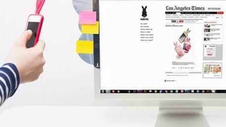 Premium Post-Wall Rabbit sticker na počítač