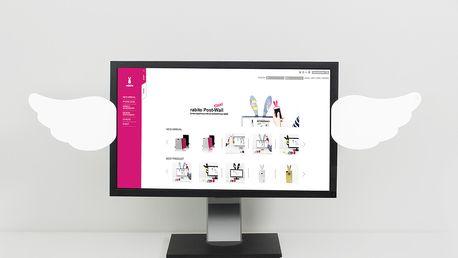 Post-Wall Angel Wings sticker na počítač