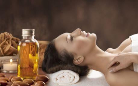 """Luxusní kosmetické ošetření pleti tzv.""""MAROCKÝM TEKUTÝM ZLATEM"""" arganovým olejem jen za 189 Kč! 60 minut rozmazlování Vaší pleti! AHA peeling, gomáž, hluboké čištění, masáž, maska a sérum z arganového oleje!"""
