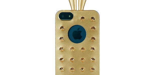 Rabito obal na iPhone 5 Stud Case, zlatý