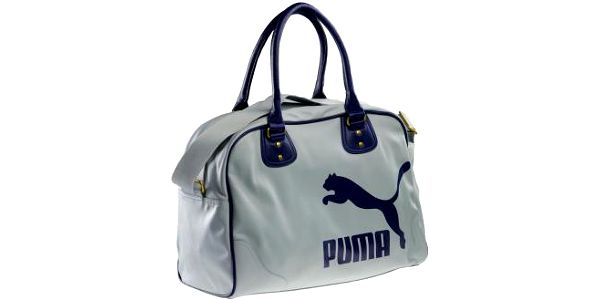 Puma ORIGINALS GRIP BAG šedá/modrá