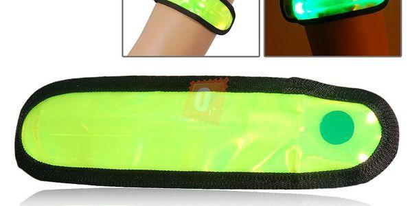 Reflexivní doplněk - LED náramek a poštovné ZDARMA! - 31902283