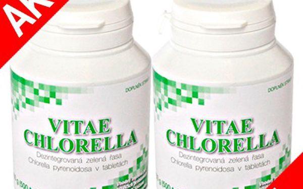 Zázračná Chlorella 1 + 1 ZDARMA pro Váš zdravý životní styl!