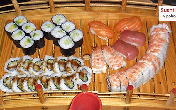 Bohaté degustační sushi menu pro dva