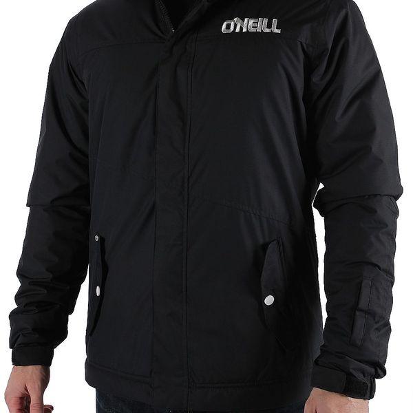 Chlapecká černá zimní bunda na lyže O'Neill. Vodní sloupec 5000 mm.