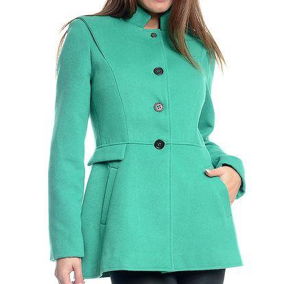 Dámský krátký mátově zelený kabátek Bella