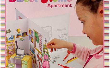 Sweet Home Kreativní omalovánky Create your Apartment