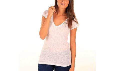 Dámské bílé véčkové tričko Aéropostale