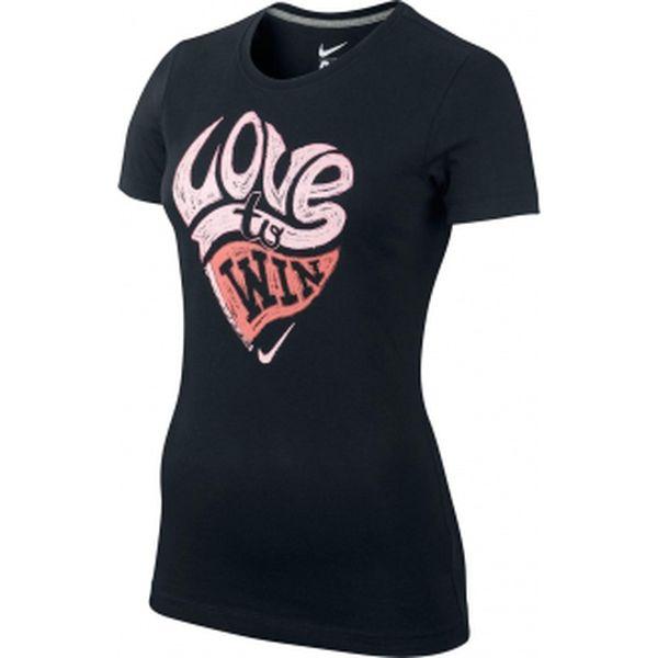 Dámské triko pro volný čas - nike valentines day verbiage scoop