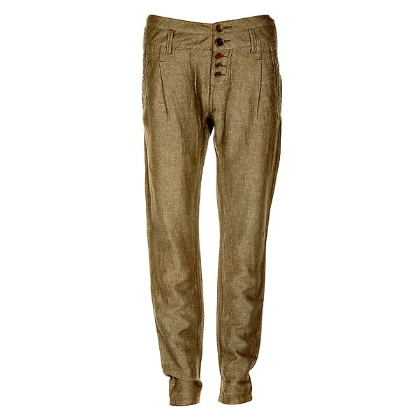 Dámské lněné kalhoty Timeout
