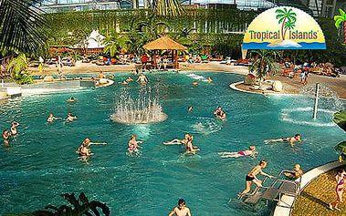 Last Minute Zábavní park Tropical Islands na celý den již 8.11.2013
