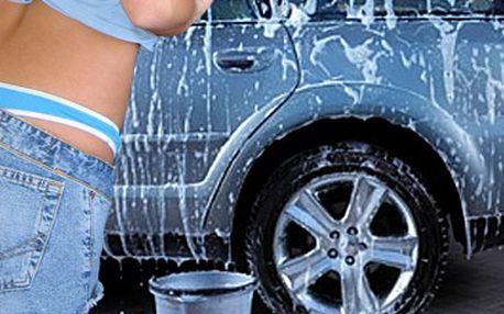 Pouze nyní luxusní ruční mytí Vašeho čtyřkolového miláčka za fantastických 1200 Kč!