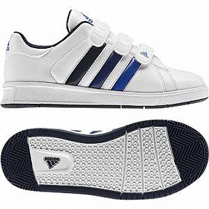 Dětská sportovní obuv - Adidas BTS CLASS 3 CF K white/coral