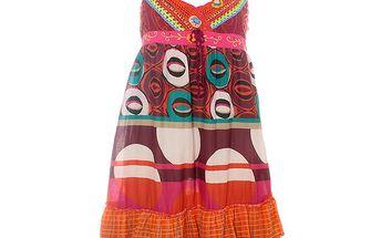 Dámské pestré letní šaty Savage Culture